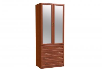 ЭЛ-10 Шкаф 2-х дверный с зеркалом и ящиками