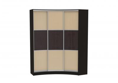 Радиусный шкаф-купе Арт.15 (кожа)