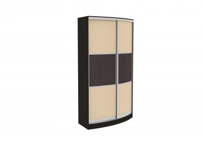 Радиусный шкаф-купе Арт.60 (кожа)