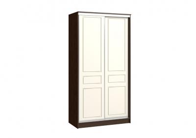 шкаф-купе 2х дверный  (фрезеровка пвх)