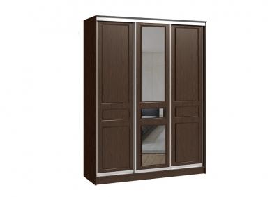 шкаф-купе 3х дверный (фрезеровка венге)