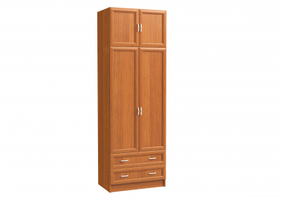 Шкаф 2-х дверный с 2-мя ящиками и антресолью
