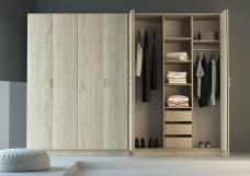 """Шкафы распашные со складными дверями """"Гармошка"""""""
