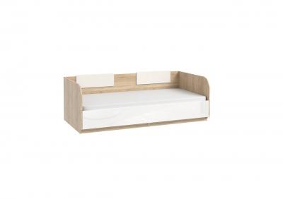СЛ-93,94 + СЛ-100 кровать с подъемным механизмом и кожаными накладками (спальное место 800/900*1900)