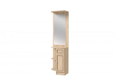 Секция с зеркалом и дверью